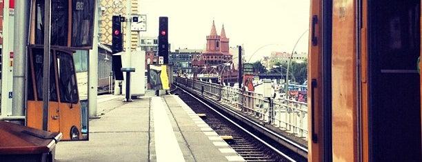 U Warschauer Straße is one of Besuchte Berliner Bahnhöfe.