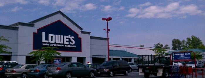 Lowe's Home Improvement is one of Errands needs that are to be done.