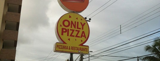 Only Pizza is one of Brasil: restaurantes bons, bonitos e baratos.