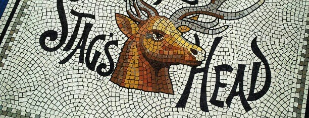 The Stag's Head is one of Dublin Literary Pub Crawl.