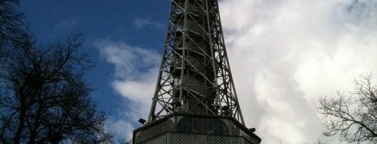 Petřínská rozhledna   Petřín Lookout Tower is one of Historická Praha.
