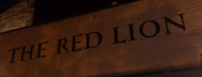 The Red Lion is one of Pubs of Oxford.