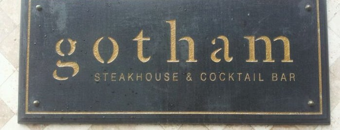Gotham Steakhouse & Cocktail Bar is one of Where To Eat: Raincity's Best.