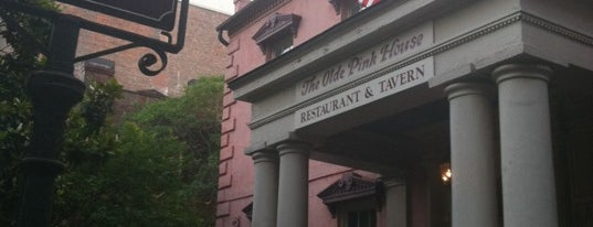 Olde Pink House Restaurant is one of Roadtrippin.