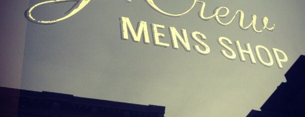 J.Crew Men's Shop is one of Shops to visit | New York.