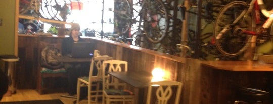 Mello Velo Bicycle Shop and Café is one of Top picks for Coffee Shops.