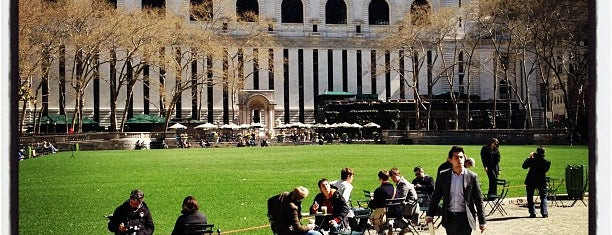 Bryant Park is one of Great Venues To Visit....