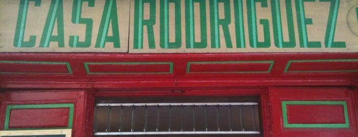 Casa Rodriguez is one of BEBER Y COMER EN MADRID.