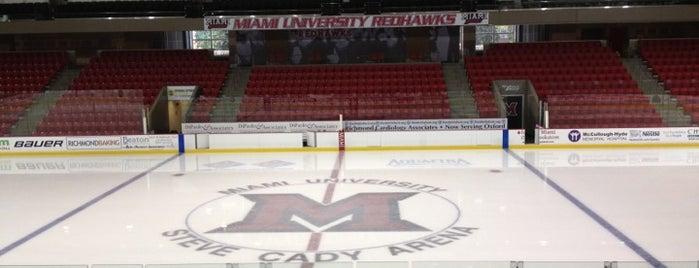 Goggin Ice Center is one of Miami U.