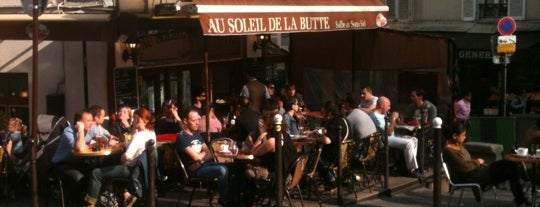 Au Soleil de la Butte is one of I worship GOOD Bars.