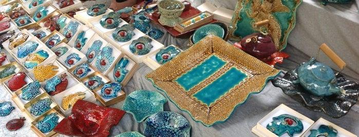 Nahalat Binyamin Art Market is one of Tel Aviv.