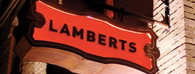 Lambert's Downtown BBQ is one of STA Travel Austin Foodie Spots.