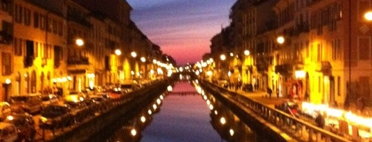 Naviglio Grande is one of Milan.