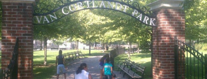 Van Cortlandt Park is one of Secrets of NYC.