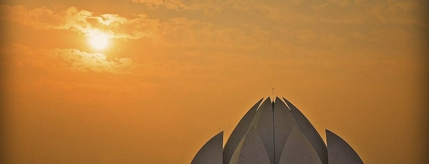 Lotus Temple (Bahá'í House of Worship) is one of Bucket List Places.