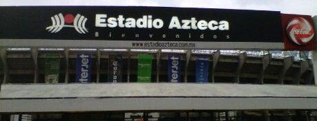 Estadio Azteca is one of Estadios.