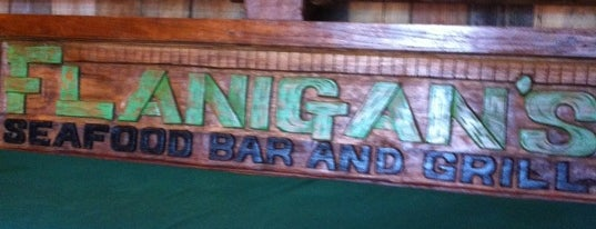 Flanigan's Seafood Bar & Grill is one of 20 favorite restaurants.