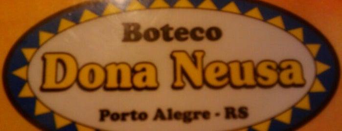Boteco Dona Neusa is one of Porto Alegre's Nightlife.