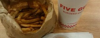 Five Guys is one of Top 5 Restaurants To Try In Jersey City.