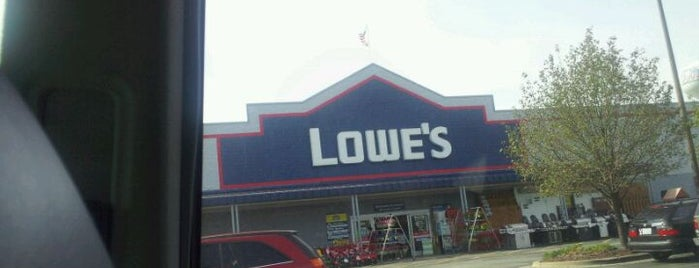 Lowe's Home Improvement is one of Places I've been near me.