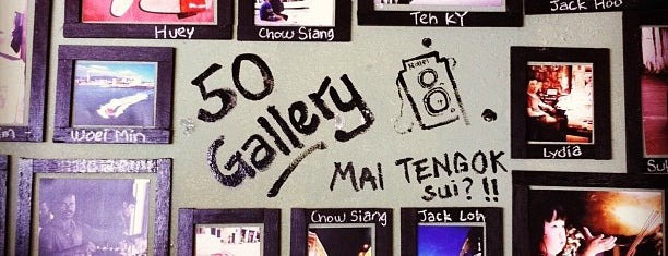 Behind 50 is one of Café | Penang.