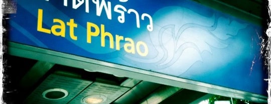 MRT Lat Phrao (LAT) is one of MRT.