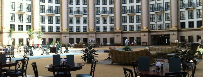 West Baden Springs Hotel is one of Indiana's National Historic Landmarks.