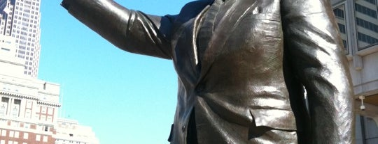 Frank L. Rizzo Monument is one of Public Art in Philadelphia (Volume 1).