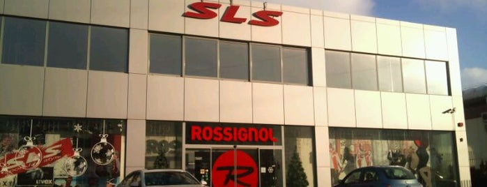 SLS Sport Life Style is one of Shops.