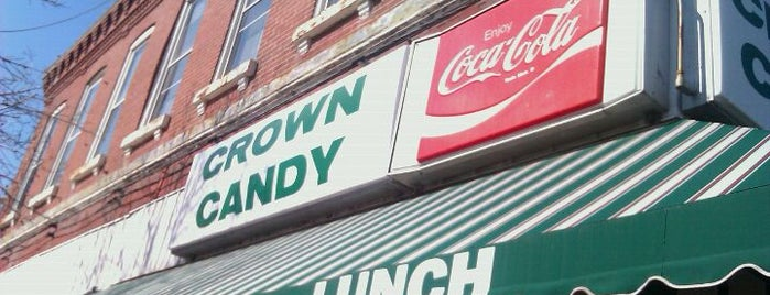 Crown Candy Kitchen is one of Best Places in #STL #visitUS.