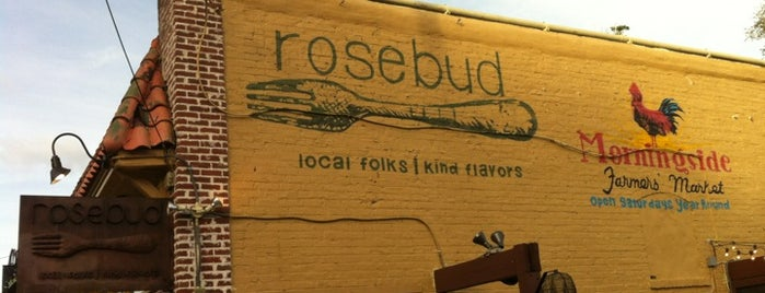 Rosebud is one of Atlanta At Its Best.