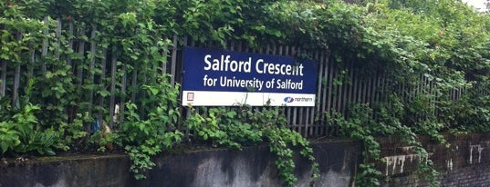Salford Crescent Railway Station (SLD) is one of Railway Stations in UK.