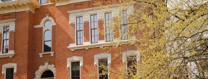 Benson Hall is one of Campus Tour Spots.
