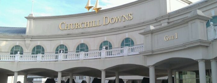 Churchill Downs is one of Great Sport Locations Across United States.