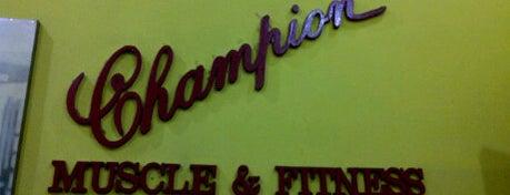 Champion Muscle & Fitnes is one of Pekalongan World of Batik.