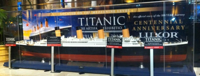 TITANIC: THE ARTIFACT EXHIBITION - Las Vegas is one of Las Vegas extended.
