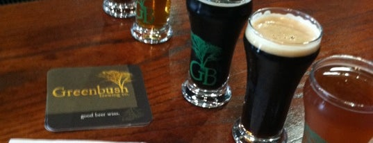 Greenbush Brewing Company is one of Breweries to Visit.