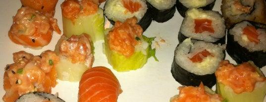 Nikkey Sushi Bar e Petiscaria is one of Coxinha ao Caviar.