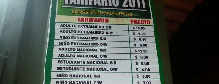 Estación de buses a Machu Picchu is one of Perú.