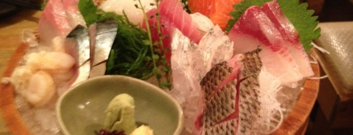 Isari Juhachiban is one of The 15 Best Places for Sushi in Tokyo.