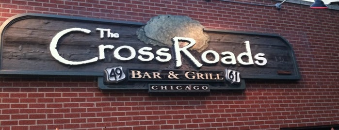 The Crossroads Bar & Grill is one of Chicago Bulls Bars in Chicago.