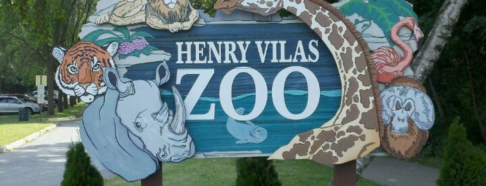 Henry Vilas Zoo is one of Favorite places in Madison, WI.