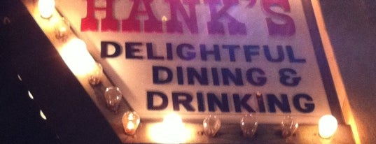 Hank's Bar is one of bars.
