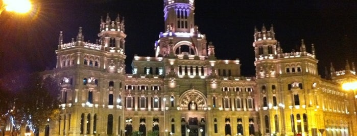 Palace of Communication is one of Madrid.