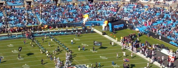 Bank of America Stadium is one of Best Stadiums.
