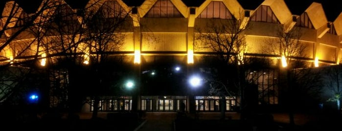 WVU Coliseum is one of WV.