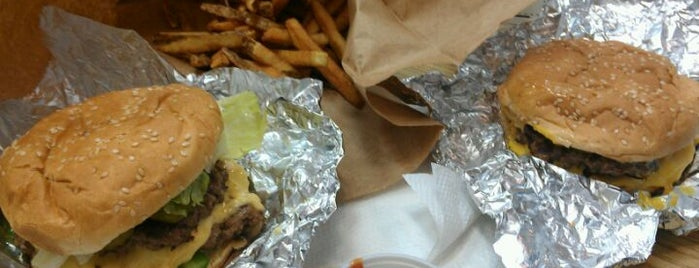 Five Guys is one of Food.