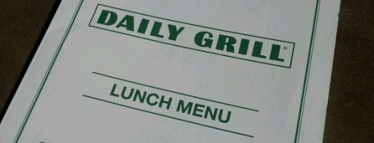 Daily Grill - Irvine is one of I Want To Go Here.