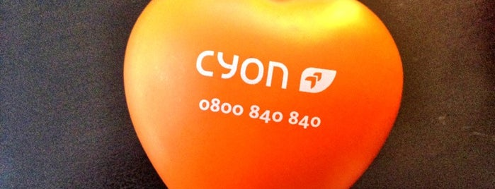 cyon Webhosting is one of #squareBuckets.