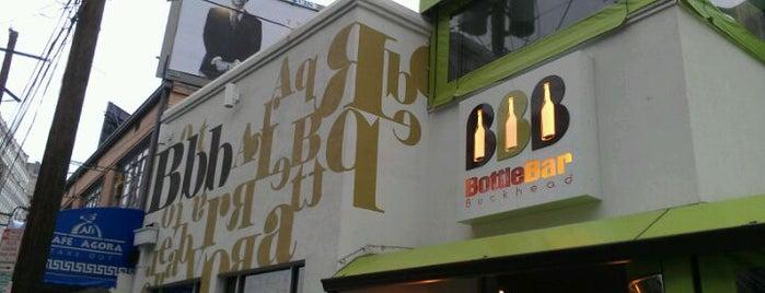 Buckhead Bottle Bar is one of Top 10 dinner spots in Atlanta, GA.